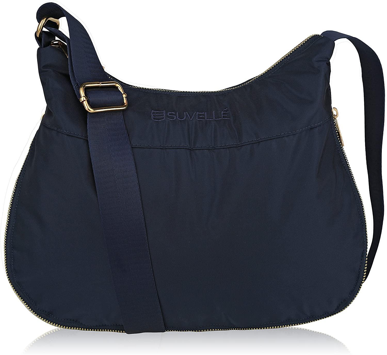 Crossbody Bag for Women Carryall Anti Theft RFID Pockets Nylon Lightweight Shoulder Bag Travel Purse