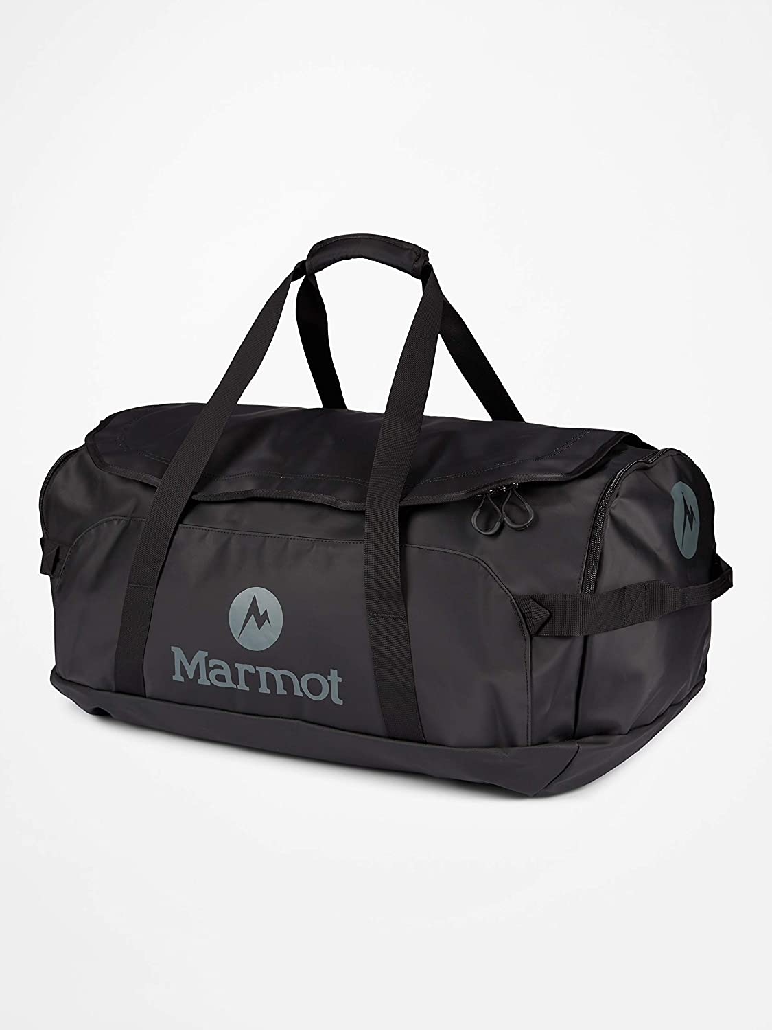 Marmot Long Hauler Travel Duffel Bag, Large, Black