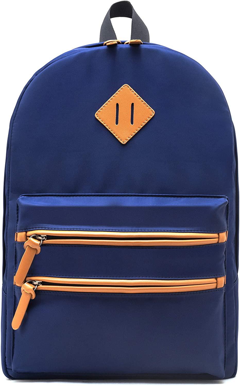 School Backpack for Women Men, Gysan Lightweight Waterproof Bookbag Laptop