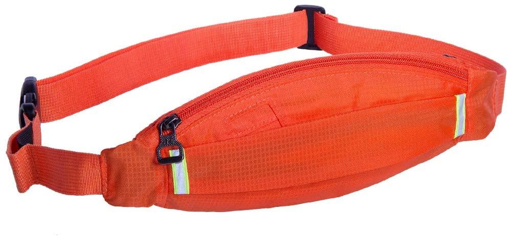 NZII Running Fanny Waist Pack, Chest Bag for Men Women, Sport Bum Bag, Jogging Cycling Traveling Hiking