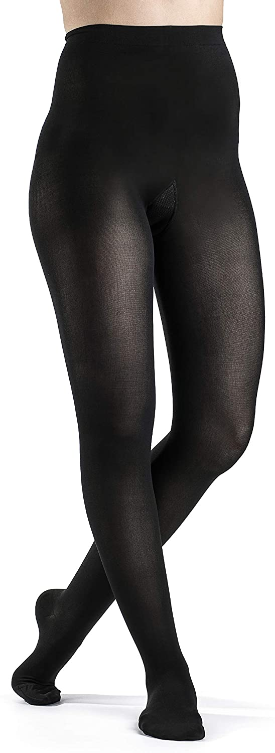 SIGVARIS Women's Style Soft Opaque 840 Closed Toe Pantyhose 30-40mmHg
