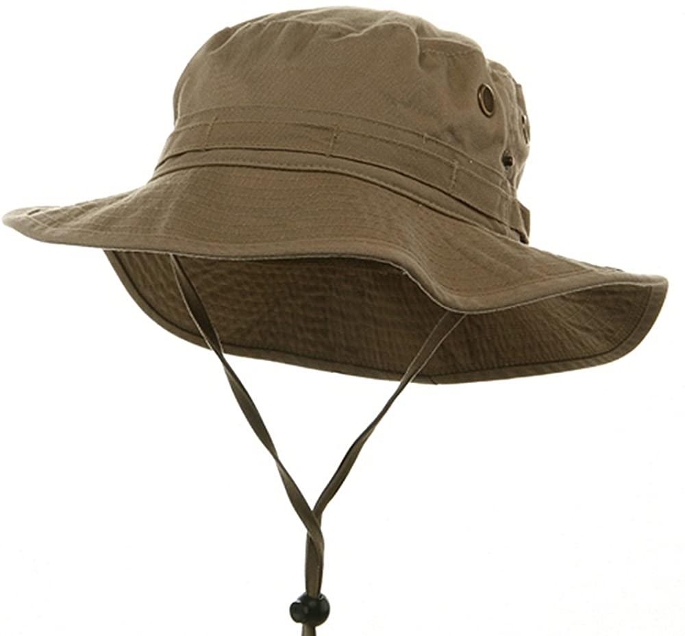 MG Washed Hunting Hats-Khaki W11S41F