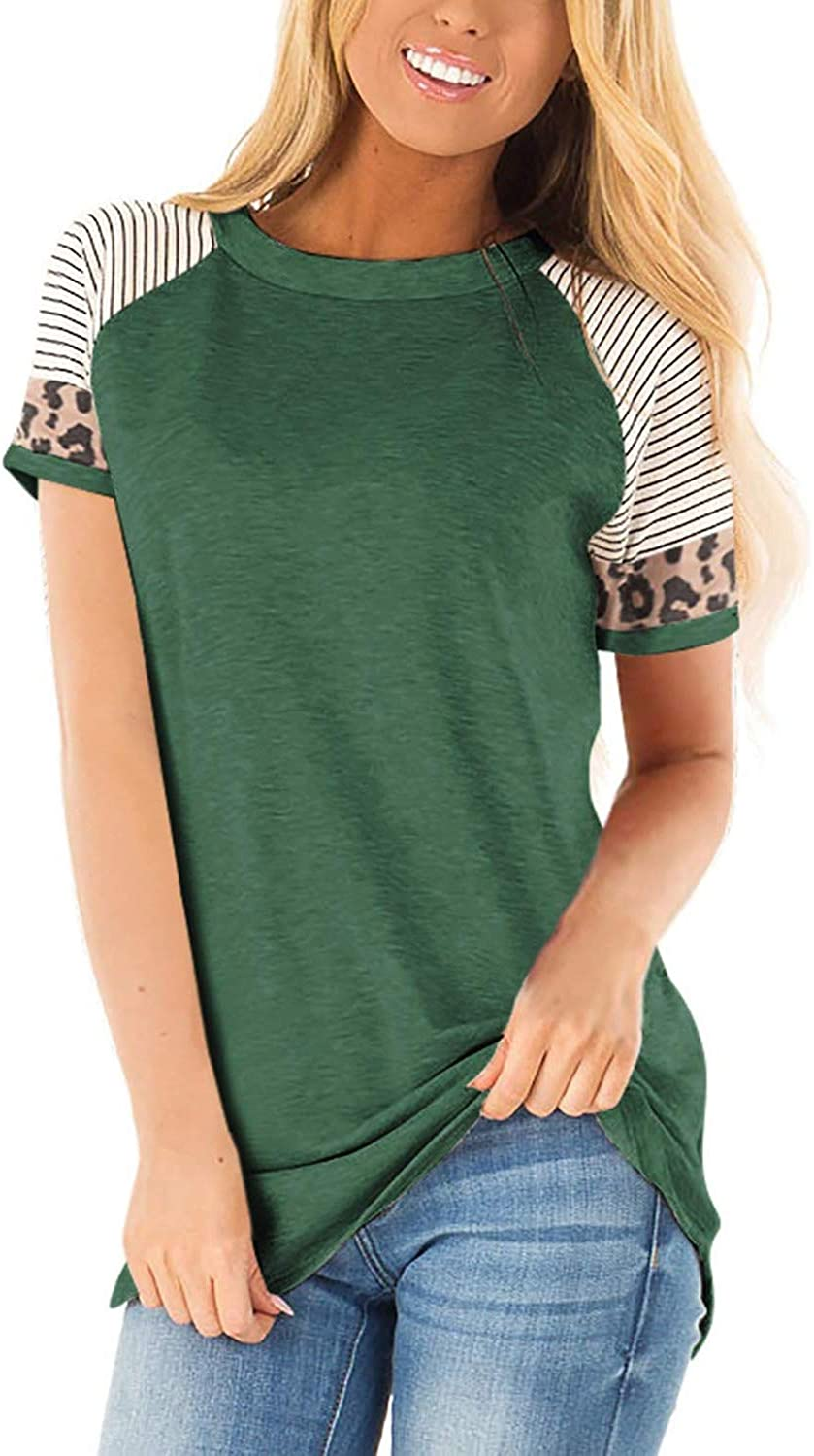 ANFTFH Shirts for Women Long Sleeve Casual Mama Bear Color Block Tops