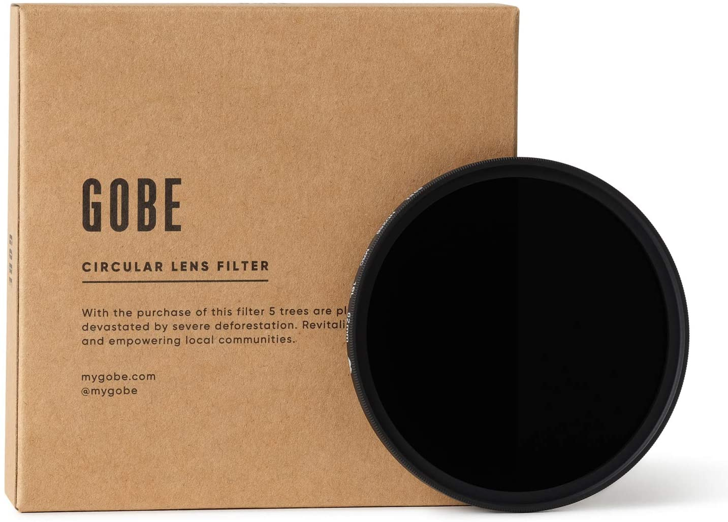 Gobe 62mm ND256 (8 Stop) ND Lens Filter (2Peak)