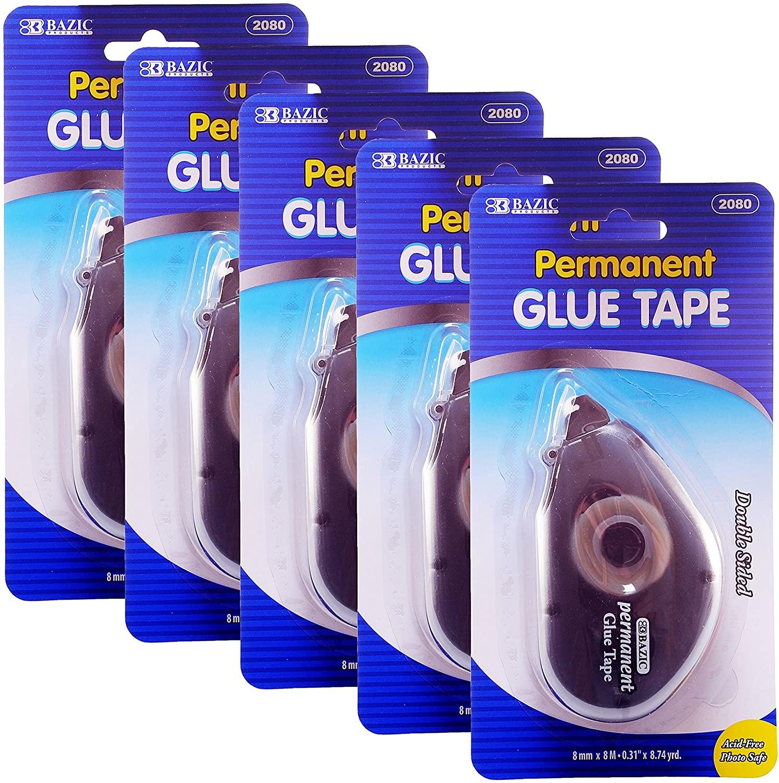 Permanent Glue Tape, 8mm x 8M (0.31