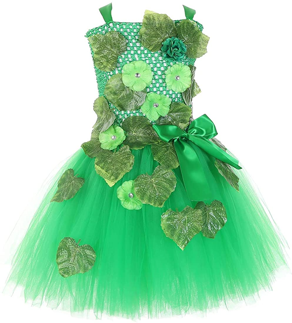 Tutu Dreams Ivy Costume for Girls 2-12Y Handmade Tutu Dress Halloween Role Play