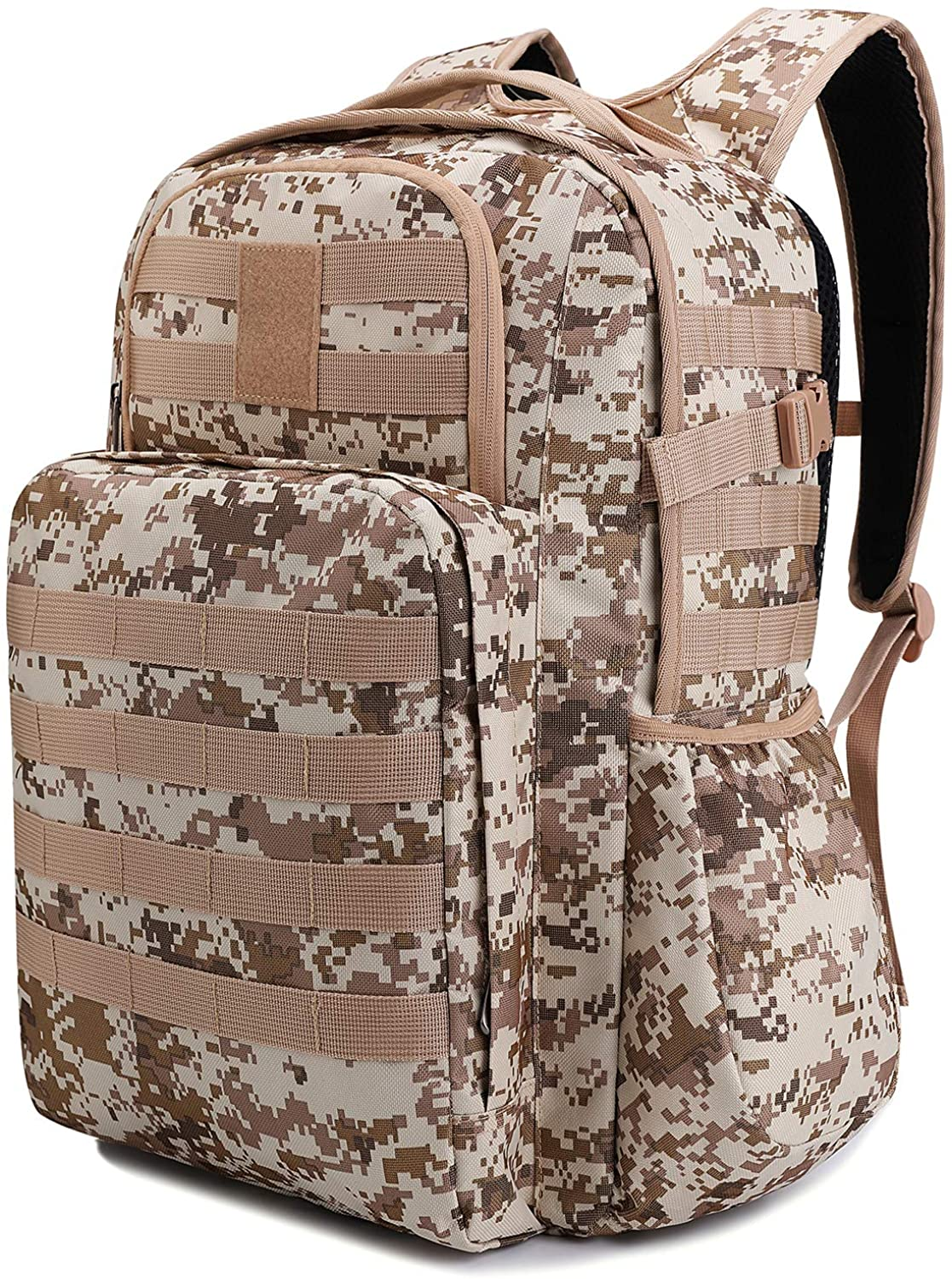 TAIBID Military Tactical Backpack Water Resistant Large Army 3 Day Assault Pack Outdoors