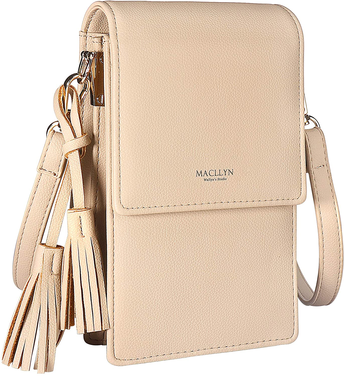 MACLLYN Small Crossbody Bag Cell Phone Purse Wallet with Credit Card Slots for Women