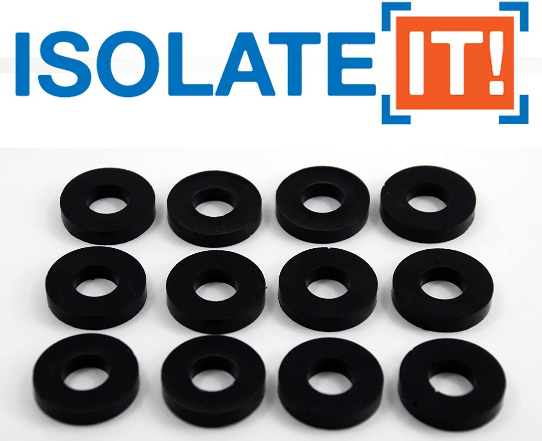 Isolate It: Sorbothane Vibration Isolation Washer 30 Duro (.45