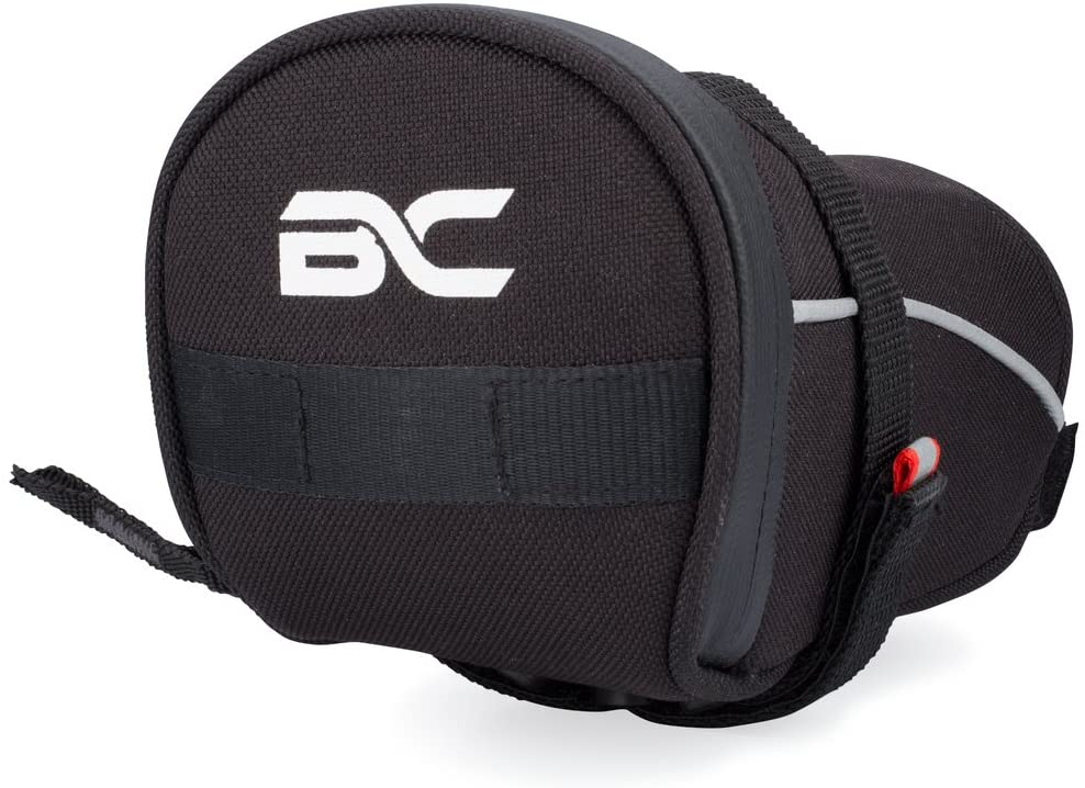 BC Bicycle Company Bicycle Saddle Bag Large Under Seat Pack for Road and MTB Bikes - Holds All Your Essential Cycling Accessories
