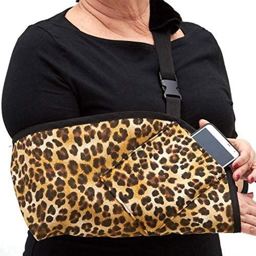 CastCoverz! Slingz! Designer Arm Sling - Color: Africa - Size: Small - Trim: Black, Made in USA