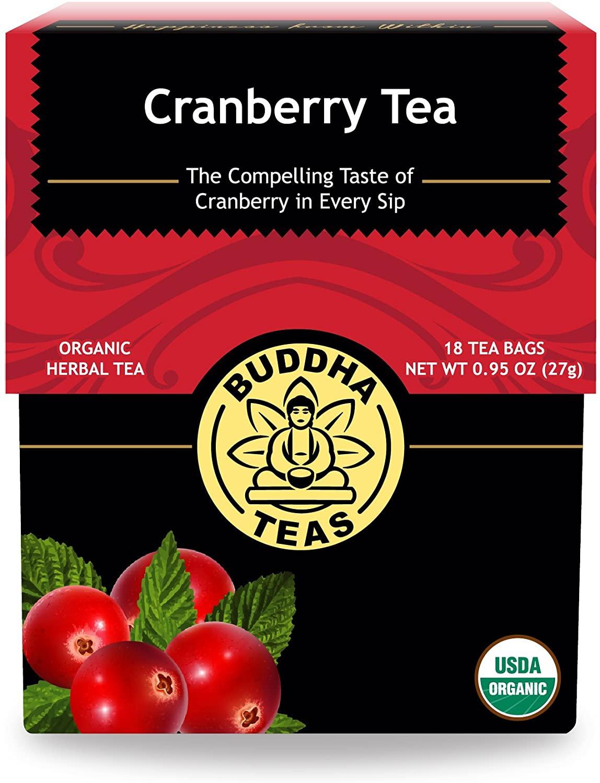 Buddha Teas Organic Cranberry Tea   18 Tea Bags
