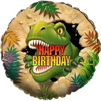Dinosaur Adventure Birthday Party Supplies foil Balloon
