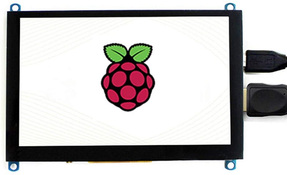 LANDZO Raspberry Pi 5 Inch Touch Display 480x320