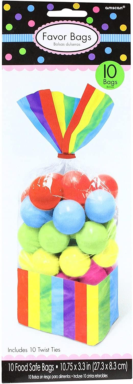Amscan Party Supplies, 10 ct, Multicolor