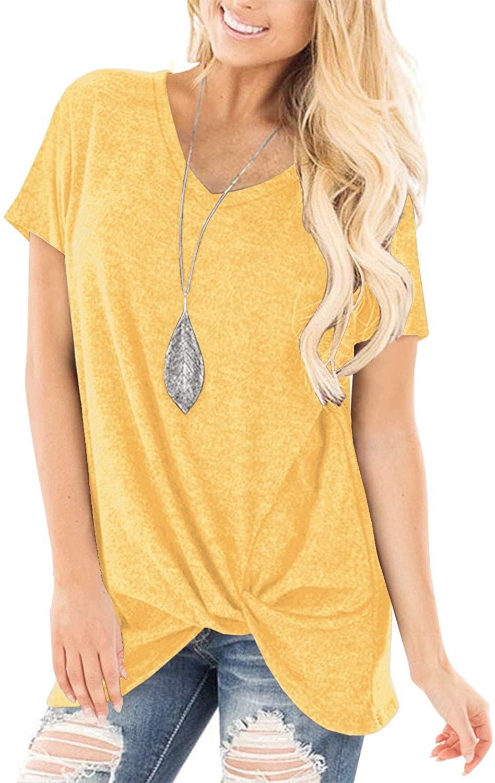 SHIBEVER Juniors Tops Off Shoulder Tops for Women Tee Shirts Summer Long Sleeve T Shirts