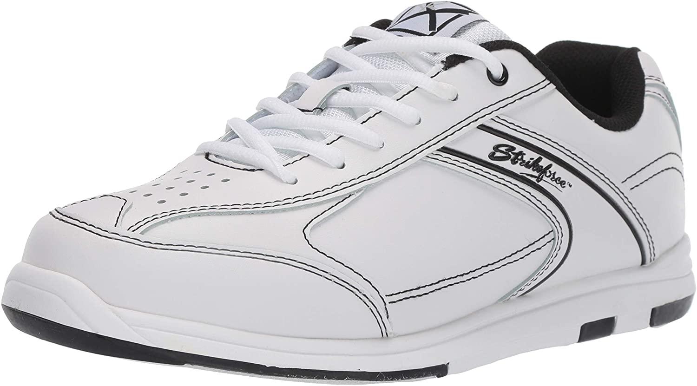 KR Strikeforce M-035-110 Flyer Bowling Shoes, White/Black, Size 11