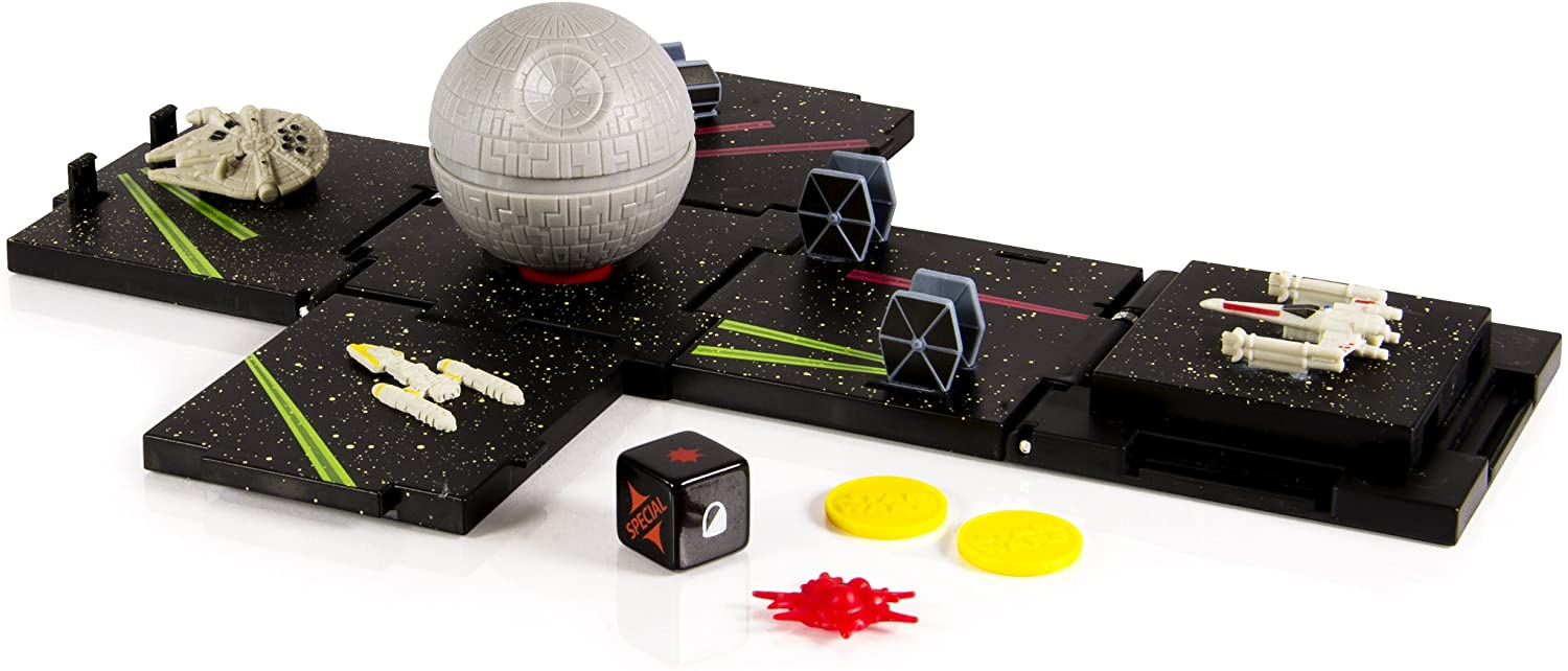 Star Wars Box Busters, Cube Super Playset, DeathStar