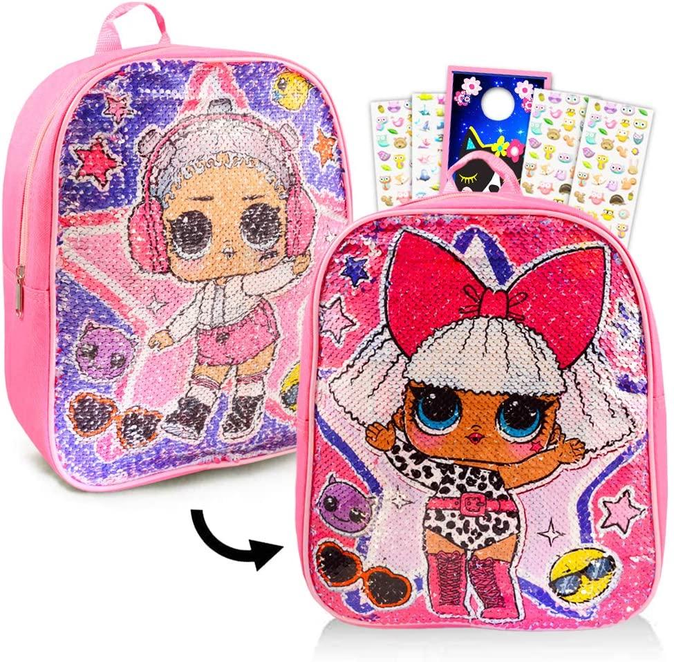 Lol Surprise Toddler Preschool Backpack Set - 11