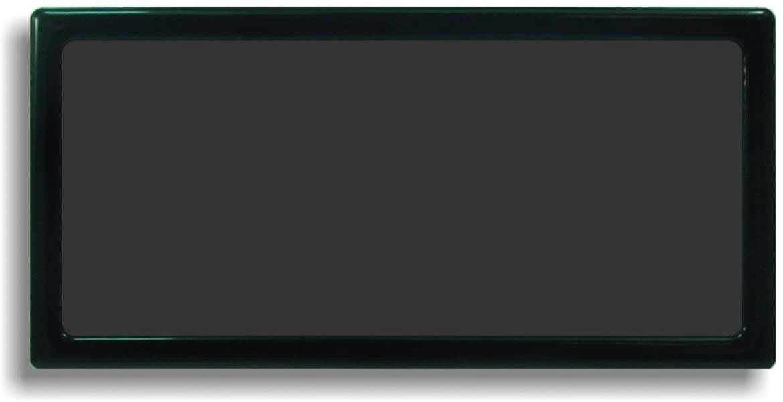 DEMCiflex Dust Filter for EKWB Coolstream RAD XTX 240, Black Frame/Black Mesh