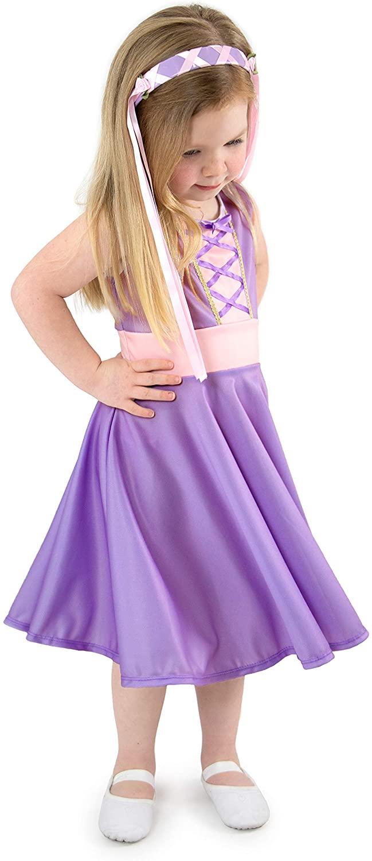 Little Adventures Rapunzel Princess Twirl Dress (XX-Large Size 12)