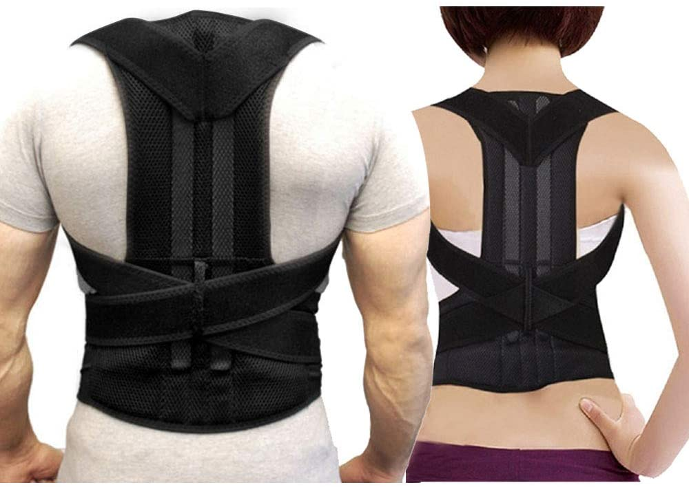 Posture Corrector, Breathable Back Brace - Adjustable Back Support, Posture Corrector for Men/Posture Corrector (M)