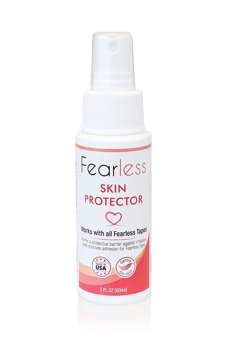 Skin Protector by Fearless Tape - 2 oz - Protect Your Skin While Using Double Sided Tape for Fashion