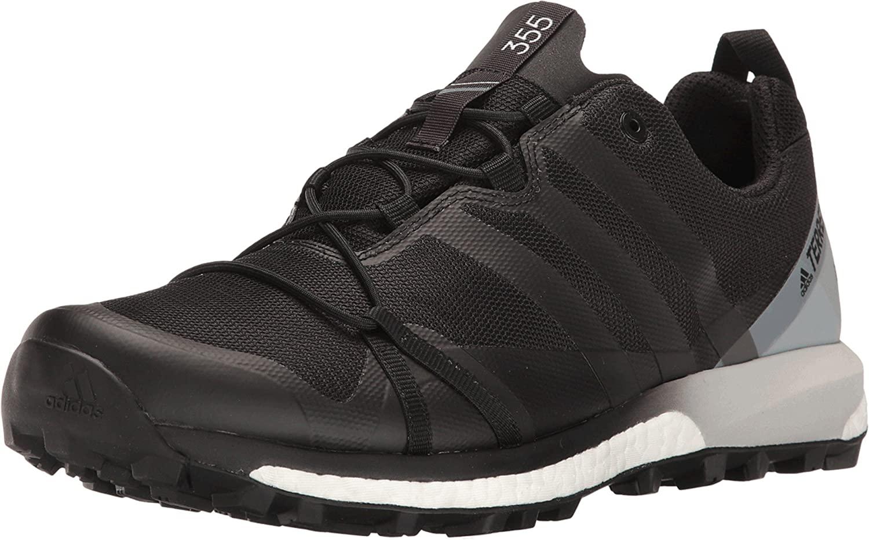 adidas outdoor Adidas Terrex Agravic GTX Shoe - Mens Black/Black/White 15