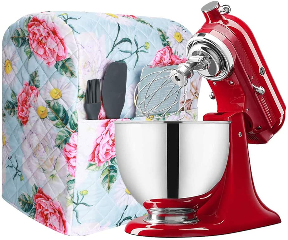 Stand Mixer Dust Cover, 6-8 Quart Large Kitchen Aid Mixer Cover Compatible with Kitchenaid Mixers, Fit All Tilt Head Bowl Lift Models, Kitchen Accessory, Thicken Carring Case For Kitchen Mixer (Y04)