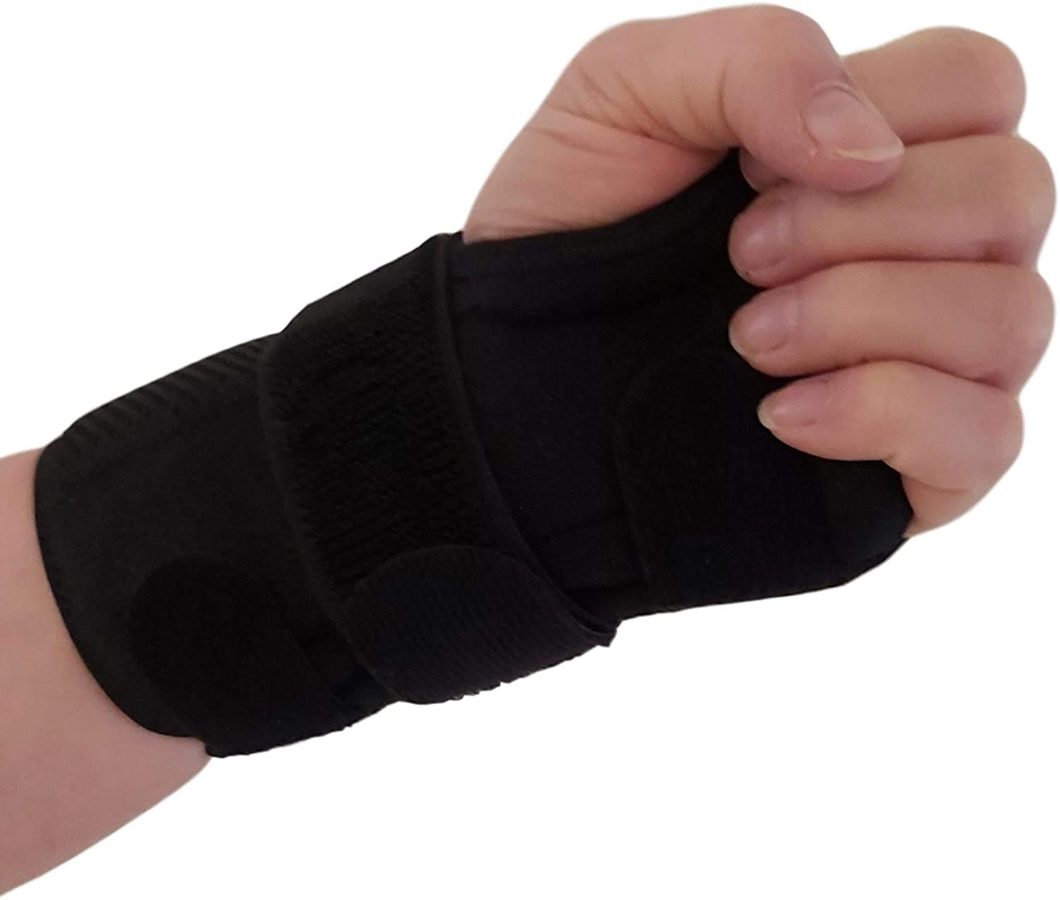 Carpal Tunnel Wrist Brace Night Support – Removable Wrist Splints Arm Stabilizer & Hand Brace for Carpal Tunnel Syndrome Pain Relief with Compression for Forearm or Wrist Tendonitis Pain (Left)