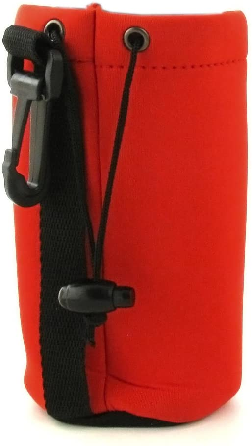 Floating Eyeglass Case with Strap, Plastic Clip, Pull String Closure
