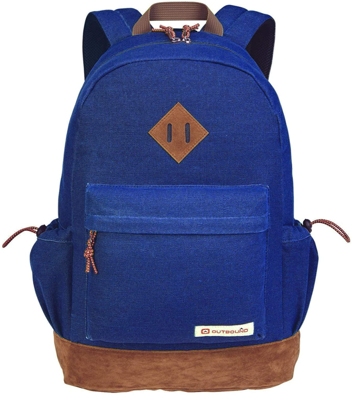 Outbound Canvas Backpack | School Backpack for Boys & Girls | 17.7 Inch