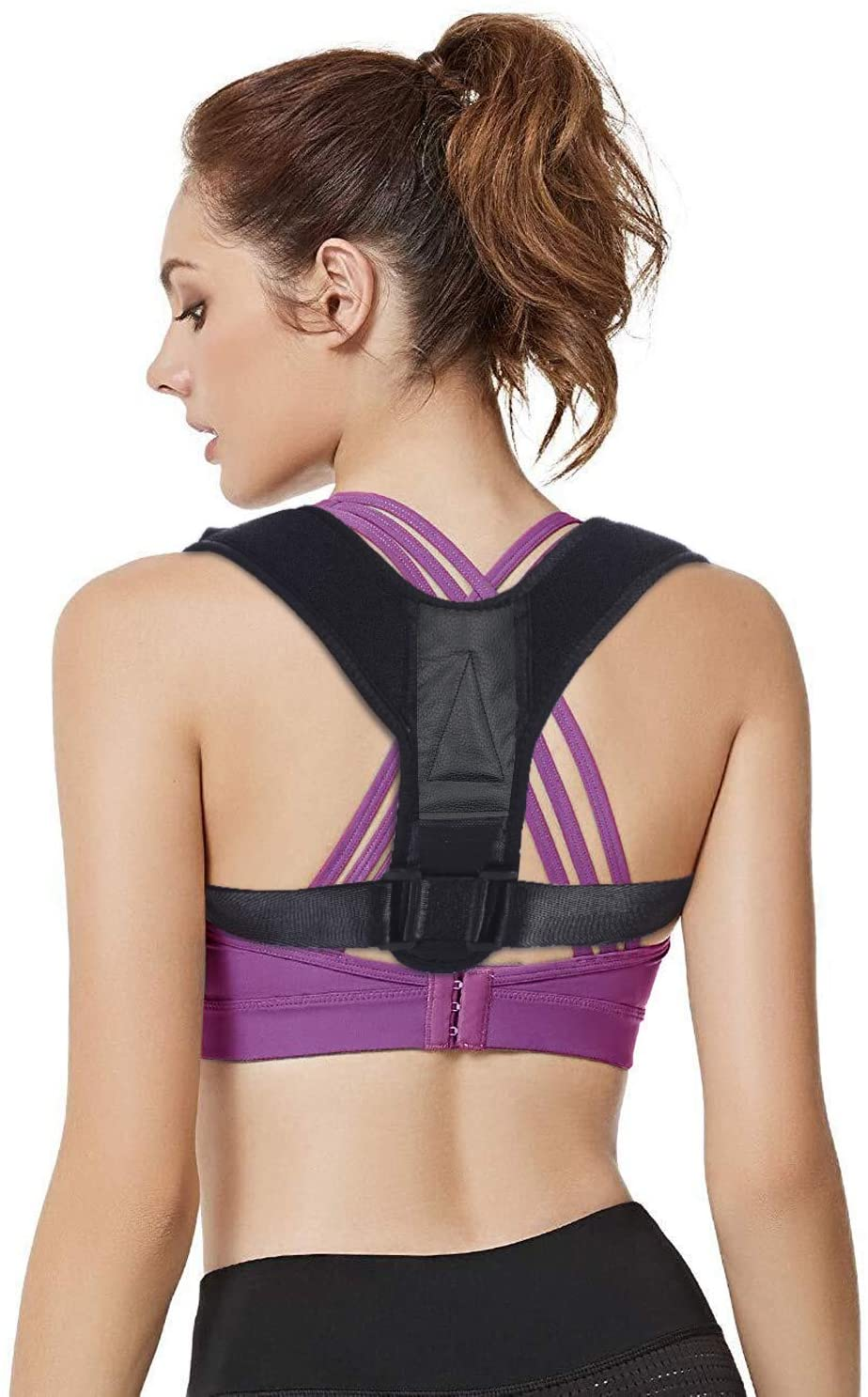 【2019 New】Posture Corrector for Women and Men (Basic, M(Chest Size:30-35