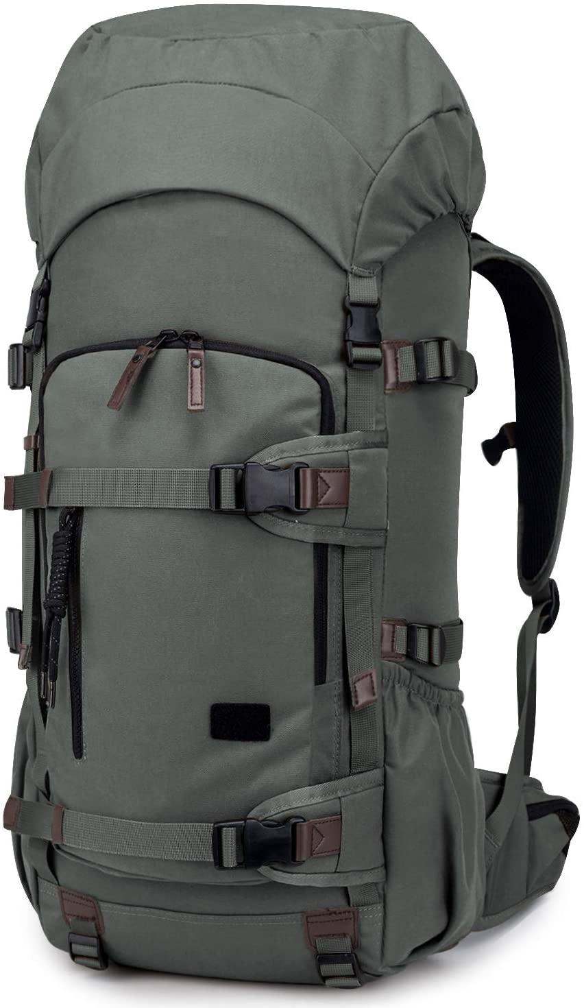 TAK 50L/60L Tactical Backpack Military Backpack Internal Frame for Camping Hiking Trekking