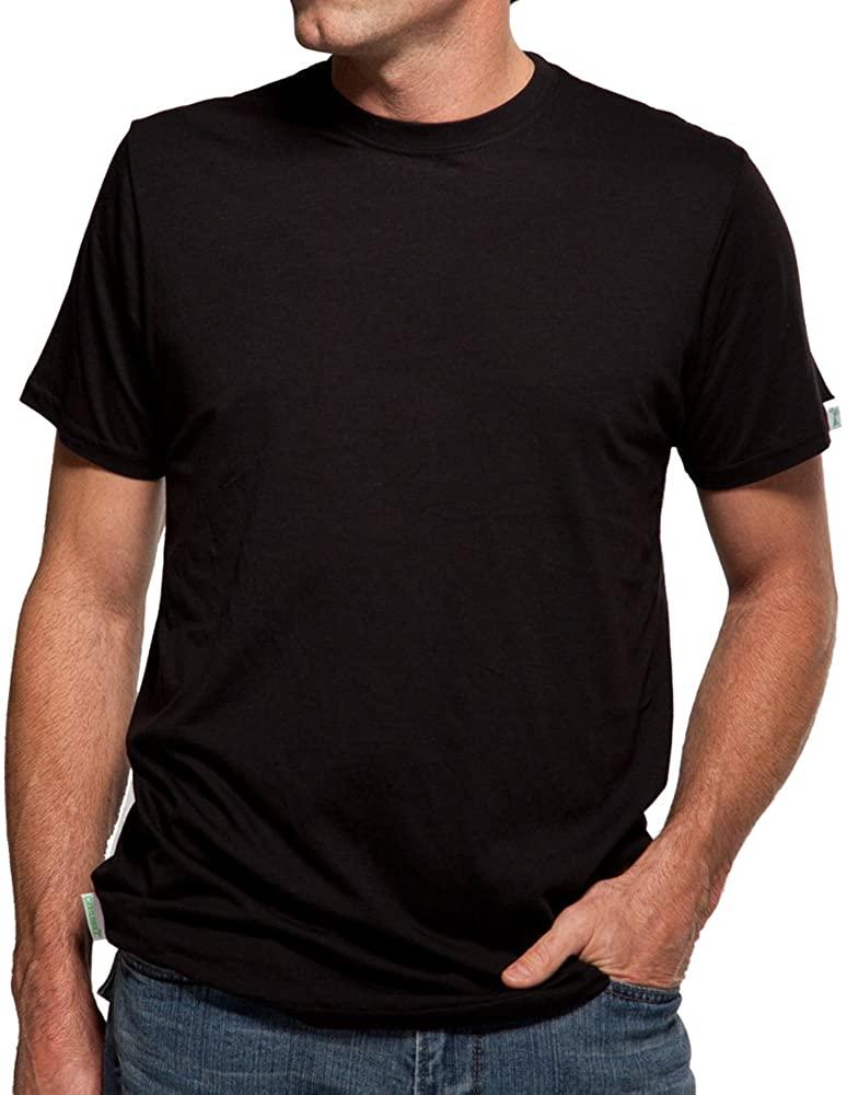 Cariloha Men's Bamboo Crew T-Shirt 2X-Large Black