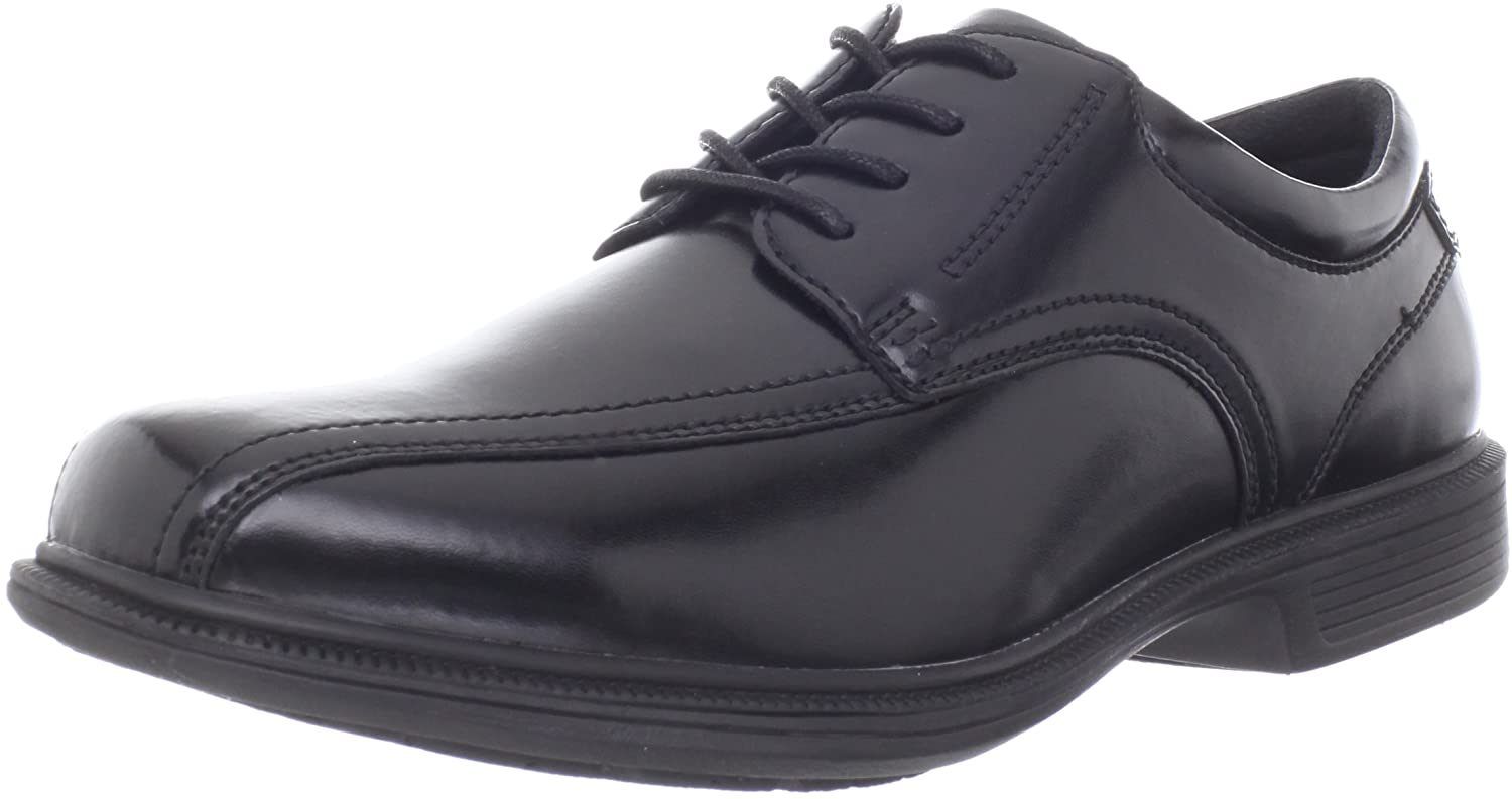 Nunn Bush Men's Bartole Street Bicycle Toe Oxford Lace Up with Kore Slip Resistant Comfort Technology