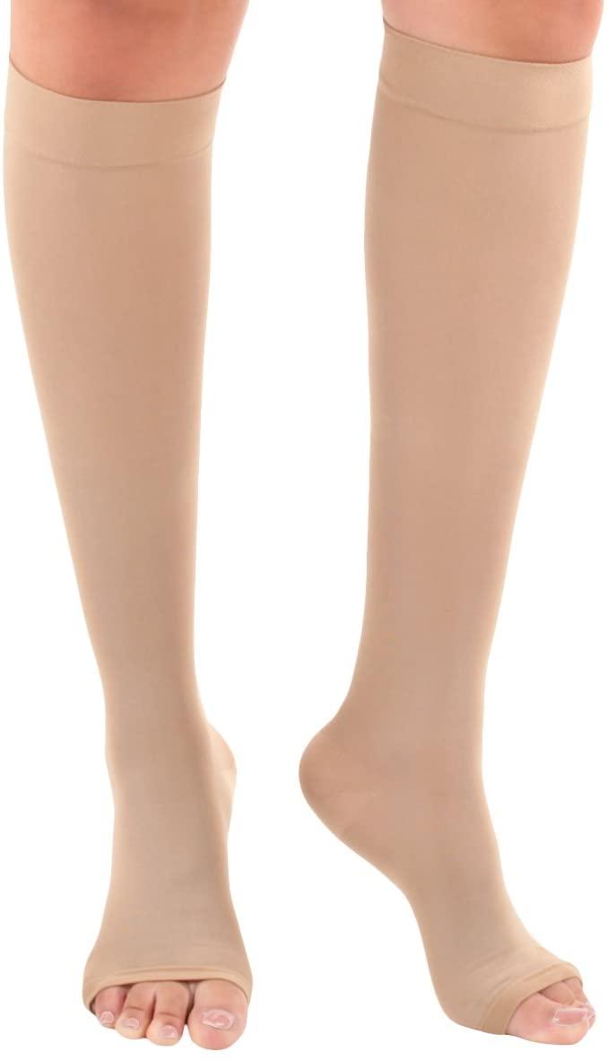 Microfiber Opaque Knee Hi 20-30mmHg Absolute Support