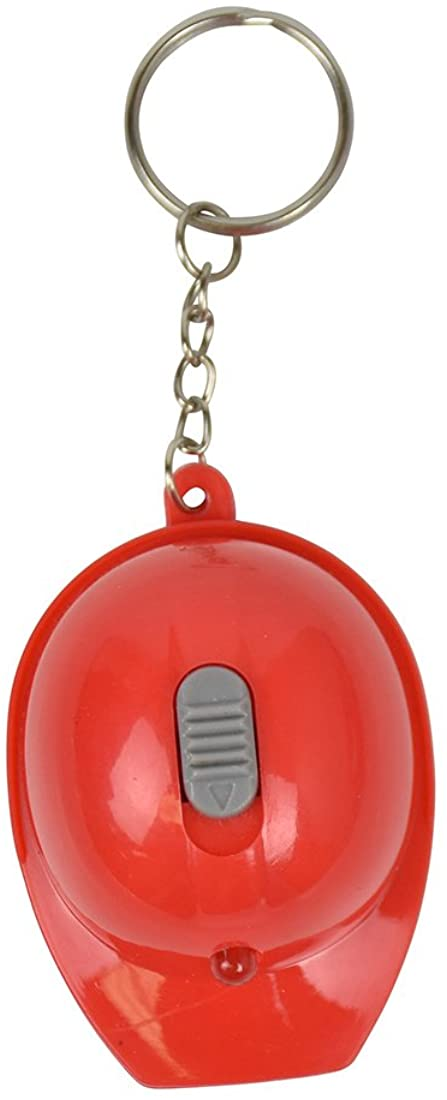 Hard Hat Flashlight Keychain Beer Opener