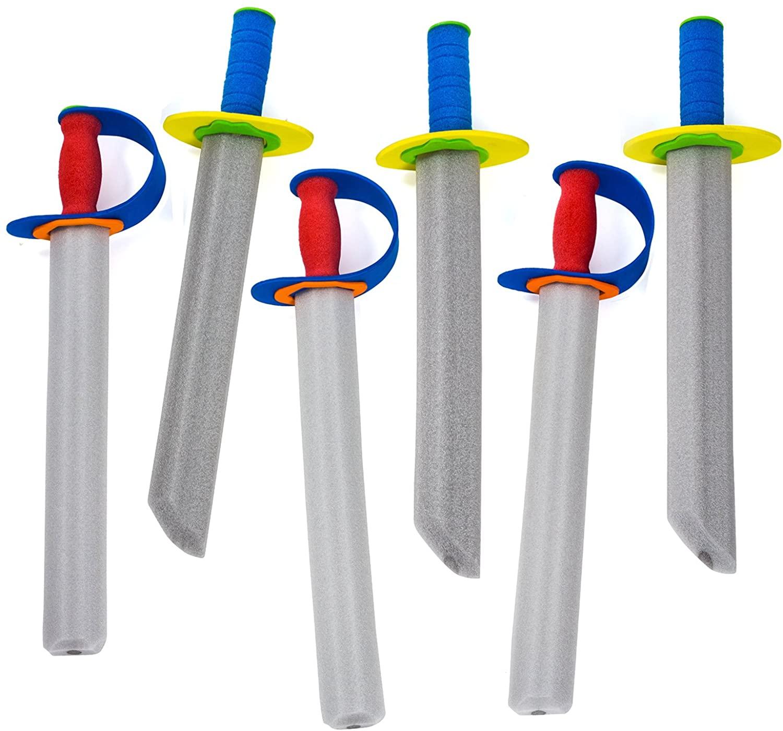 Tigerdoe Foam Swords - Toy Swords - Warrior Sword Toy - Ninja Swords - Christmas Stocking Stuffers