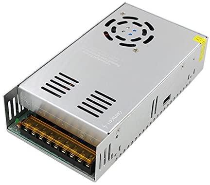 Xunba 12V 24V 40V Switching Power Supply Driver 400-500 W for CCTV Camera LED Strip AC 100-240V Input to DC 12-24-40V Small Size (SS500-24)
