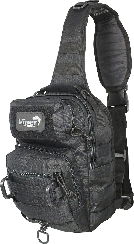 Viper Shoulder Pack Bag One Size Black