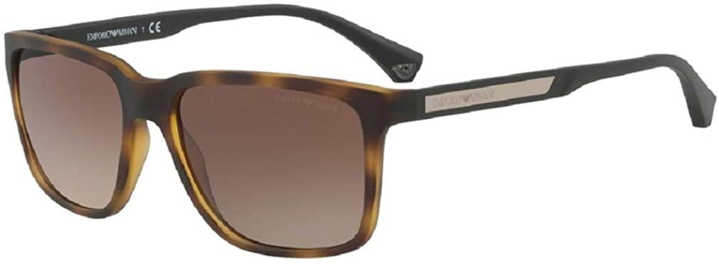 Emporio Armani EA4047 Square Sunglasses For Men For Women +FREE Complimentary Eyewear Care Kit