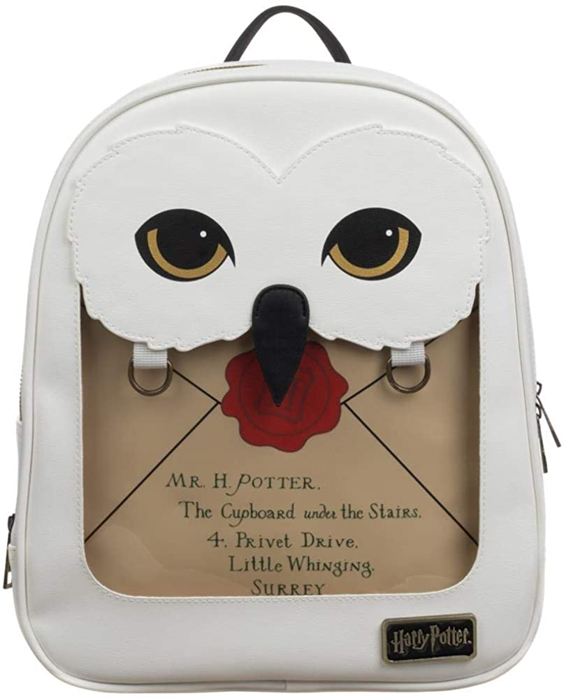 Hedwig Mini Backpack w/Removable Pin Collection Pouch