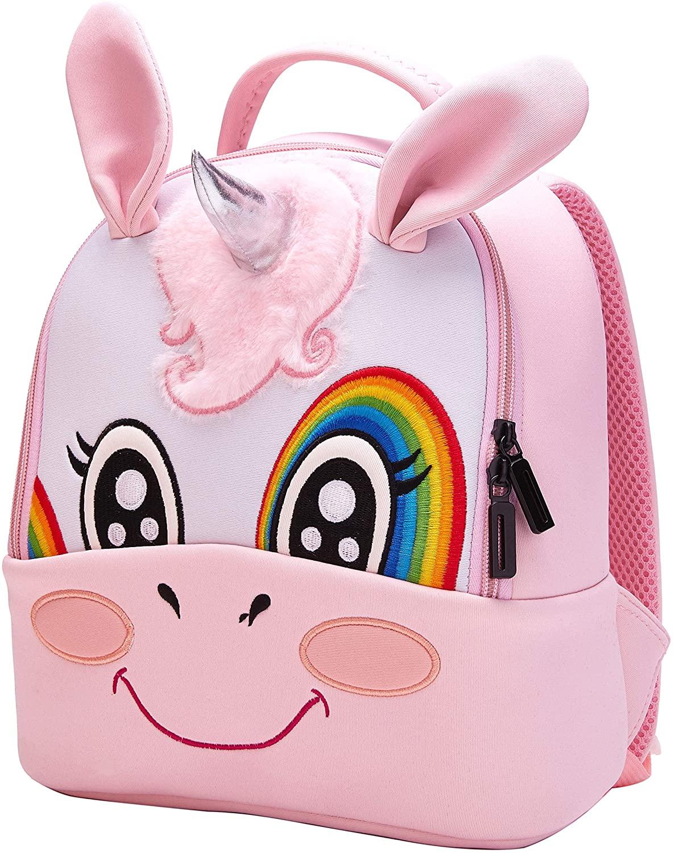 Suerico Baby Backpack Toddler Backpack Preschool Bookbag for Kids Girl Boy