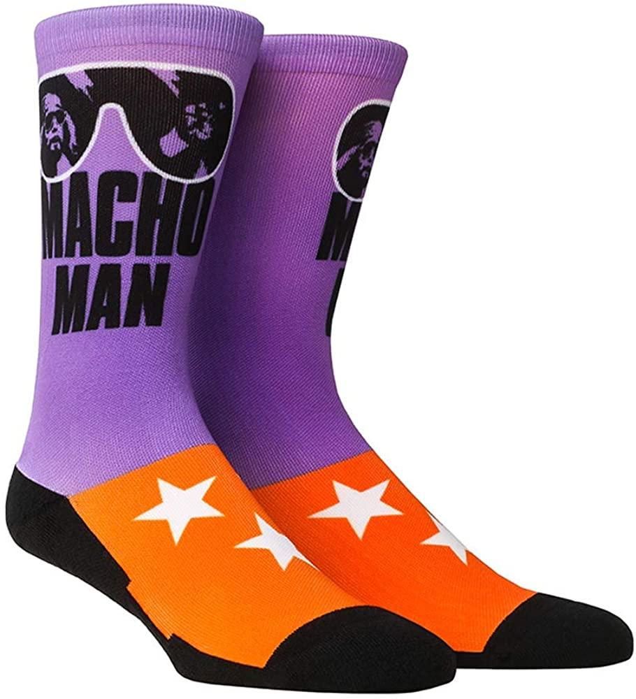 WWE Iconic Graphics Rock 'Em Socks