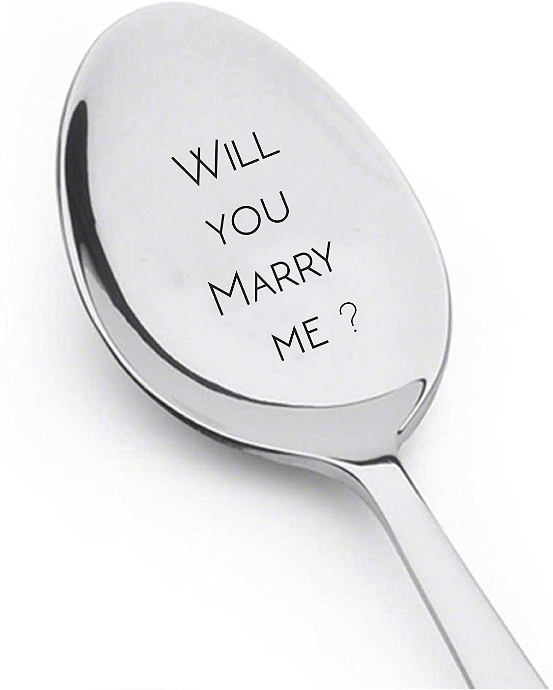 Will You Marry Me Spoon Surprise Your Loved One with an Unexpected Proposal gift for her keepsake gift valentine sweet proposal gift Spoon Gift unique gift