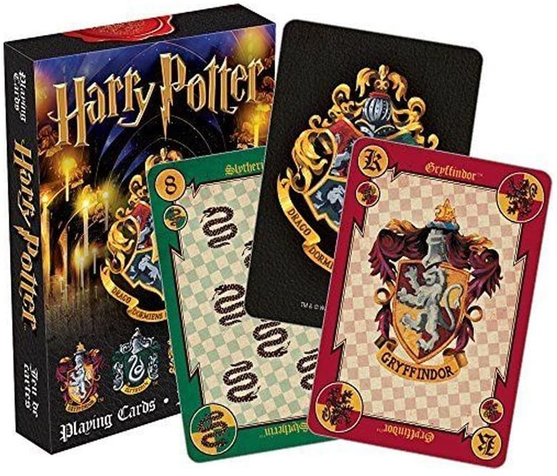 MyPartyShirt Harry Potter Crests Playing Cards