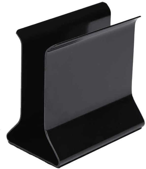 Napkin Holder Iron Non-Slip Anti-Fall for Tables Kitchen Countertops Black Paint Strong Napkin Holders for Household Restaurant Hotel Simple Design