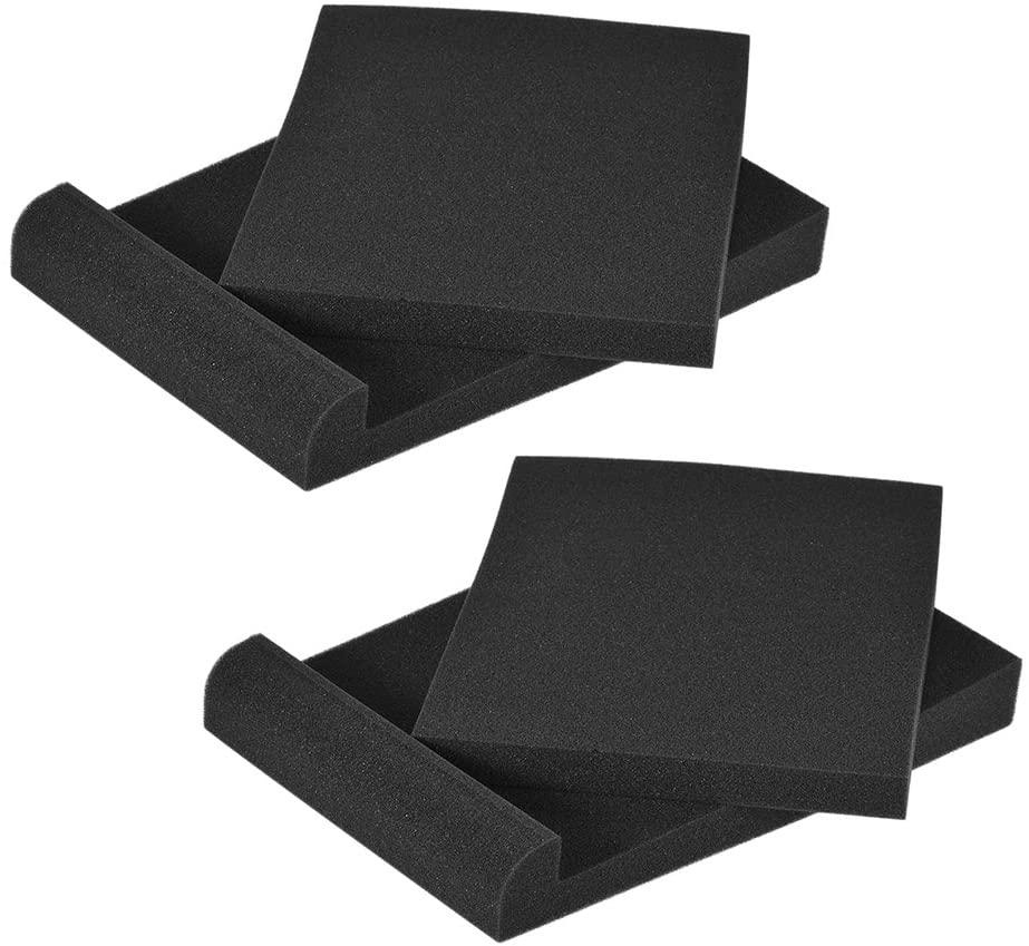 ammoon Studio Monitor Speaker Isolation Acoustic Foam Pads (Type 1)