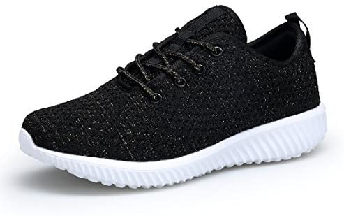 DOMOGO Women's Tennis Shoes Lightweight Sneakers Breathable Shoes for Walking